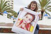 Cristina Maruri en el periódico