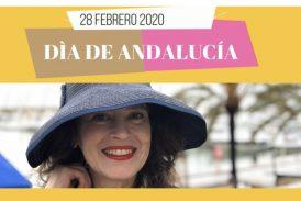 Cristina Maruri participa en el Día de Andalucía.