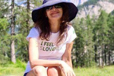 El periódico El Correo publica el viaje de la escritora a Eslovenia.