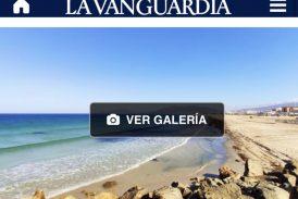 """""""Road Trip"""" de Tarifa a Conil, el viaje de la escritora en La Vanguardia."""