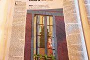 """""""Una infusión con sabor a Navidad"""" es el relato que la escritora nos ofrece en los periódicos El Correo y La Vanguardia."""