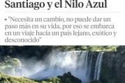"""""""Santiago y el Nilo Azul"""" un viaje por tierras etíopes que la escritora publica en La Vanguardia."""