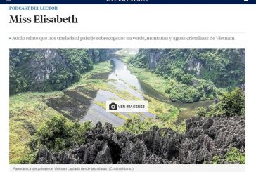 """""""Miss Elisabeth"""" el primer Podcast que se publica en La Vanguardia, de la escritora Cristina Maruri."""