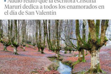 """""""Hay Historias de Amor"""" es el podcast de Cristina Maruri para el día de los enamorados en La Vanguardia."""