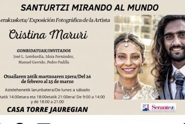 """""""El Arte de la Fotografía Solidaria"""" es el amplio reportaje que la Vanguardia dedica a Cristina Maruri, con motivo de su nueva exposición en Santurtzi (Vizcaya)."""