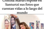 El periódico Deia realiza un extenso reportaje a la escritora y fotógrafa Cristina Maruri con motivo de su exposición en Santurtzi.