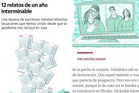 """""""12 Relatos de un año interminable"""" es el suplemento especial del periódico El Correo en el anuario de la pandemia."""