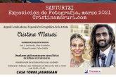 El periódico El Correo da cobertura a la exposición de Cristina Maruri con dos extensos reportajes.
