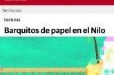 """""""Barquitos de Papel en el Nilo"""" es el cuento de verano que la escritora publica en El Correo."""